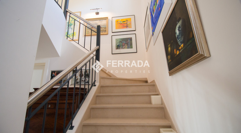 Stairway to 1st floor