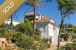 sold almancil villa
