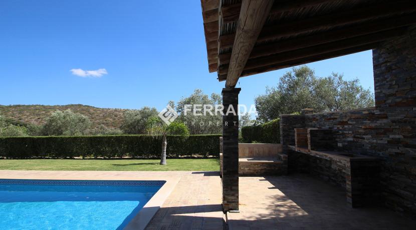 Terrace by pool
