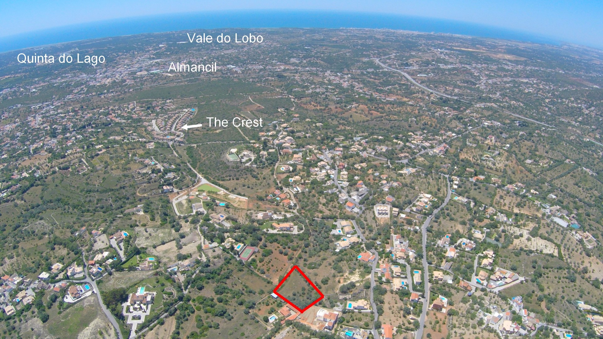 Plot Approved to Build Luxury Villa in Vale Formoso Area – Almancil