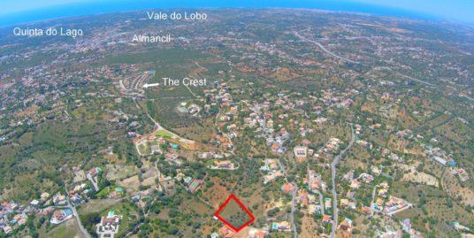 Double Plots Approved for 2 Villas – Golden Hills of Almancil – Vale Formoso – Algarve