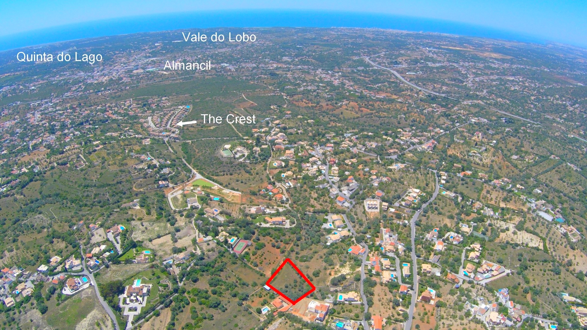 Double Plots Approved for 2 Villas – Golden Hills of Almancil – Vale Formoso – Algarve